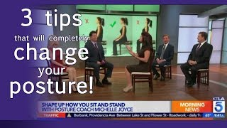 3 easy tips that will change your posture immediately