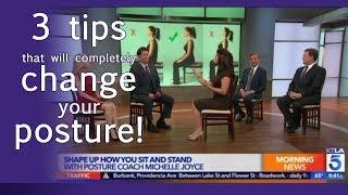 KTLA - 3 Easy Tips That Will Change Your Posture Immediately