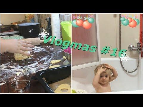 ❄ Vlogmas #16 | Konečně peču cukroví ❄
