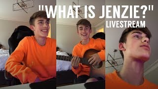 Johnny Orlando Asks ''What Is Jenzie?'' & Sings | May 27, 2018
