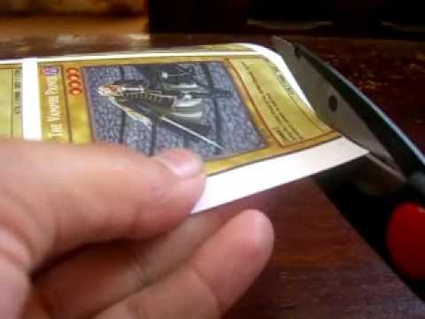 jugar con carta de yugioh: