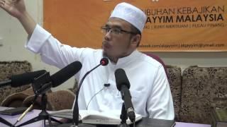 01-05-2014 Dr.Asri Zainul Abidin: Tiga Golongan Allah Tak Pandang Di Hari Akhirat