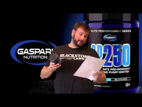 Gaspari Nutrition SP250 30 Servings