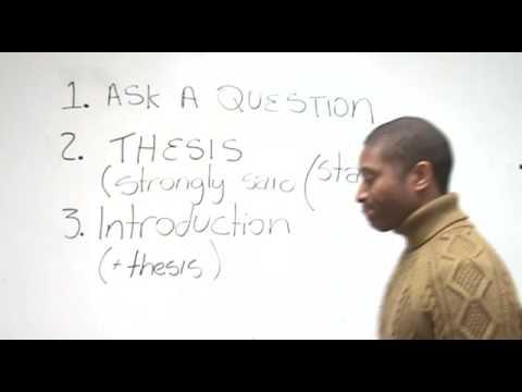 Lekce angličtiny: Jak napsat esej