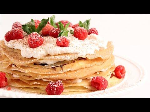 Nutella Crepe Cake Recipe – Laura Vitale – Laura in the Kitchen Episode 870