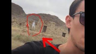 Видеоға белгісіз ақ адам түсіп қалды/ШОК в кадры попали нечто необъяснимый!!