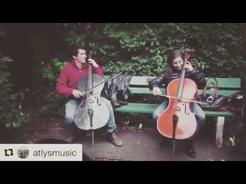 An impromptu cello jam of a Celtic tune called Trip to Pakistan
