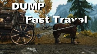 Skyrim SE: Why You Should try to Dump Fast Travel; And why You Should With TES 6