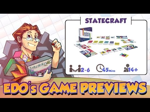 Edo's Statecraft Board Game Review