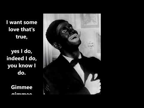 You Made Me Love You  AL JOLSON (with lyrics)