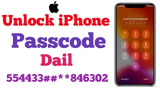 How To Unlock Any iPhone Without Computer | How To Unlock iPhone Passcode