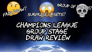 Champions League Draw At Next New Now Vblog