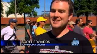 Drone pilots take SE Portland challenge