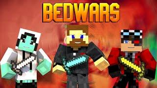"Minecraft Bed Wars #12 - ""План капкан"" или битва за центр"