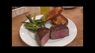 Steak- Filet Mignon , Quick and Easy on Blackstone Griddle