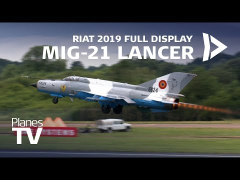 MiG-21 Full Display RIAT 2019
