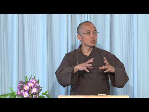 """The Four Establishments Of Mindfulness"" - Dharma Talk by Thầy Pháp Dung - 2015 07 23 UH EN"