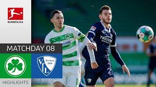 Greuther Fürth 0-1 VfL Bochum Pekan 8