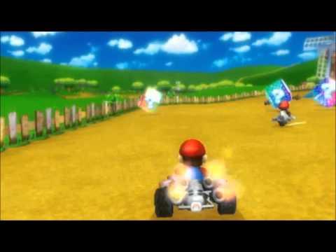Видео № 0 из игры Mario Kart + Руль (Б/У) [Wii]