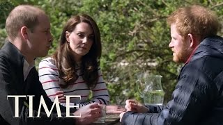 Princes William & Harry Talk To Princess Kate About Losing Their Mom | TIME