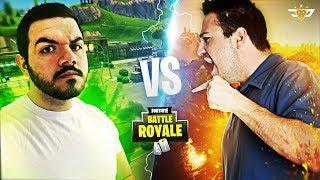 ME VS RANDOM KID'S DAD - WE GET IN A FIGHT! (Fortnite: Battle Royale)