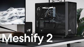 Fractal Design Meshify 2 Light 강화유리 (Black)_동영상_이미지