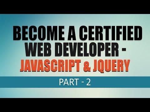 Javascript \u0026 JQuery | Free Complete Web Development Tutorial | Part 2 | Eduonix
