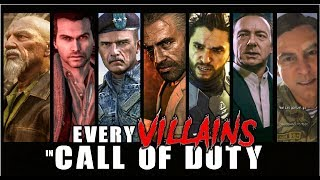 EVERY ICONIC VILLAIN/ANTAGONIST in CALL OF DUTY | Boss Battle Gameplay | 1080p (60ᶠᵖˢ) ✔