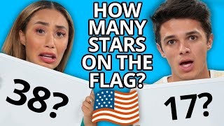 High School Trivia Challenge!!  | ft. MyLifeasEva and Brent Rivera | Brent vs Eva