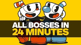 All Cuphead Bosses Defeated In 24 Minute Speedrun