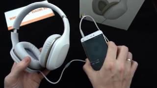 Mi Headphones Light (Comfort) - накладные наушники от Xiaomi
