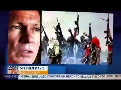 Video of Australian Negotiator employed by Nigerian Government naming alleged Boko Haram sponsor's.