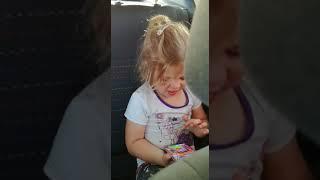 My daughter singing mal oor jou van Tarryn Lamb