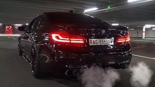 LOUD BMW M5 F90 I Startup I Turbo Whistle SOUND I REVS I Crazy POPS & BANGS!