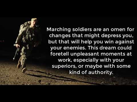 Soldier Dream Meaning
