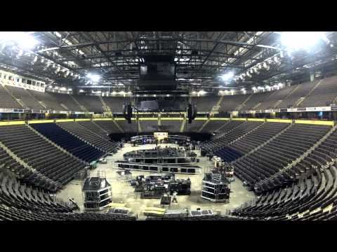 Muse - Time Lapse Video Of The 2nd Law Stage