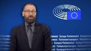 Szájer József köszöntő videója a Parlamentáriumban