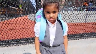 SHE HAD A FIGHT IN SCHOOL!!