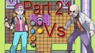 Pokemon Fire Red - Seventh Badge Gym Leader: Blaine Part 21
