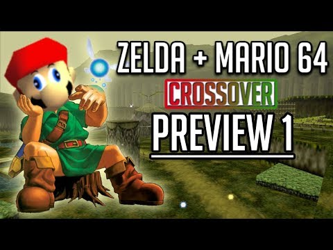 Mario de Super Mario 64 se cuela en Zelda: Ocarina of Time