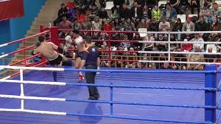 PRO-AM Турнир Россия vs Киргизия, 5 бой, 1 раунд