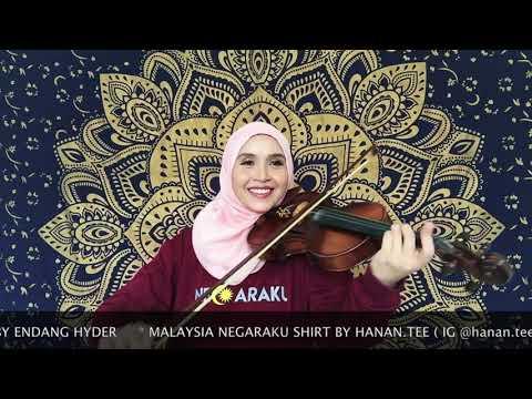 AKU NEGARAKU ( violin cover version by Endang Hyder )