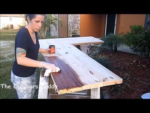 L Shapped Desk   Corner Desk   DIY Office Desk