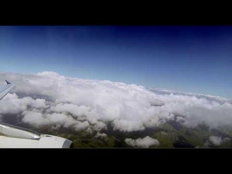 Les vacances commencent - Figari landing Timelapse Chronophotographie d'un atterrissage en Corse