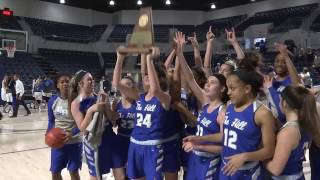 Barbers Hill Eagles vs Georgetown Eagles 2-25-17 PLAYOFFS