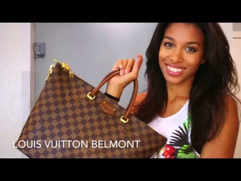 Louis Vuitton Belmont review + what's in my bag!