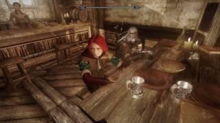 Skyrim Mods PC - Geralt, Triss, Ciri, Yennefer in Enderal