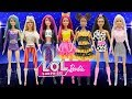 Play Doh Barbie L O L Surprise Doll Style Diva Kitty Qu