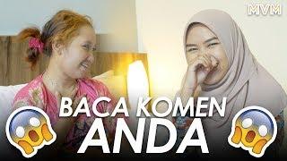Upiak & Sheryl Shazwanie Baca Komen Pedas Tak Tun Tuang Anda!
