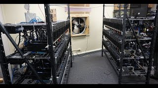 $80,000 Mining Rig Interview - 70x 1080tis!